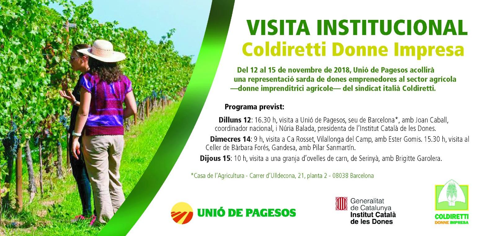 Visita Institucional – Coldiretti Donne Impresa