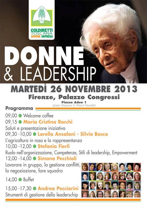 Donne e leadership