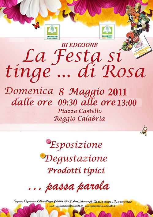La festa si tinge… di rosa (Donne Impresa Reggio Calabria)