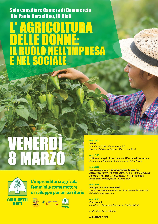 L'agricoltura delle donne: il ruolo nell'impresa e nel sociale