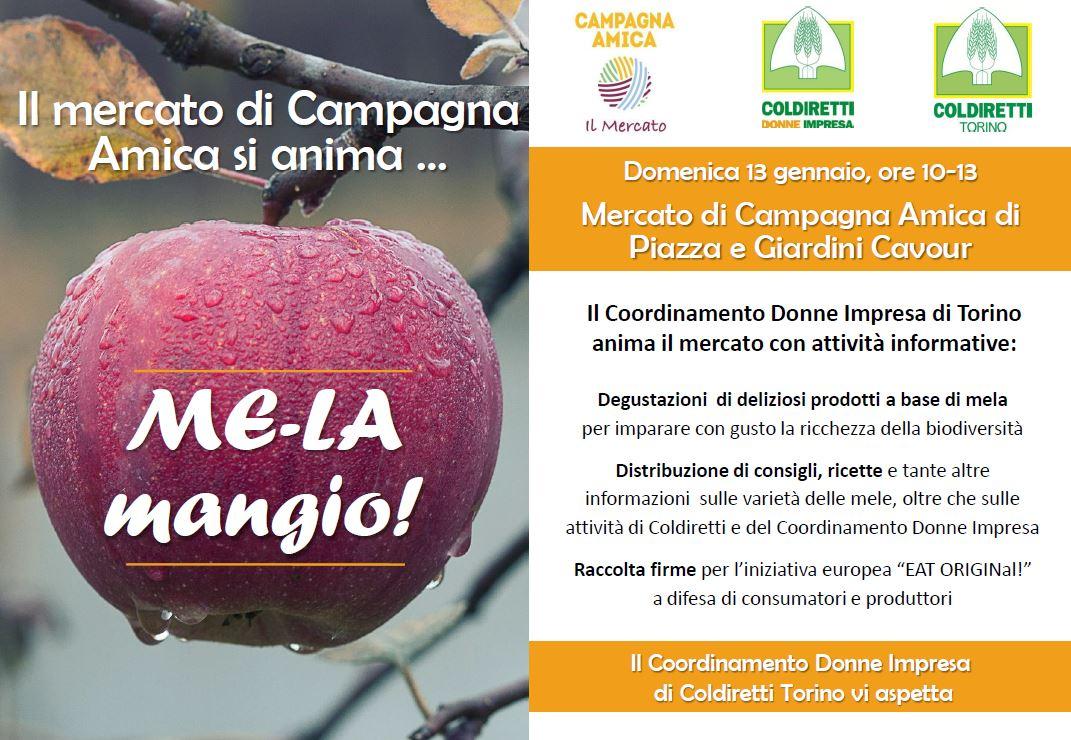 Il mercato di Campagna Amica Torino si anima: Me – la Mangio