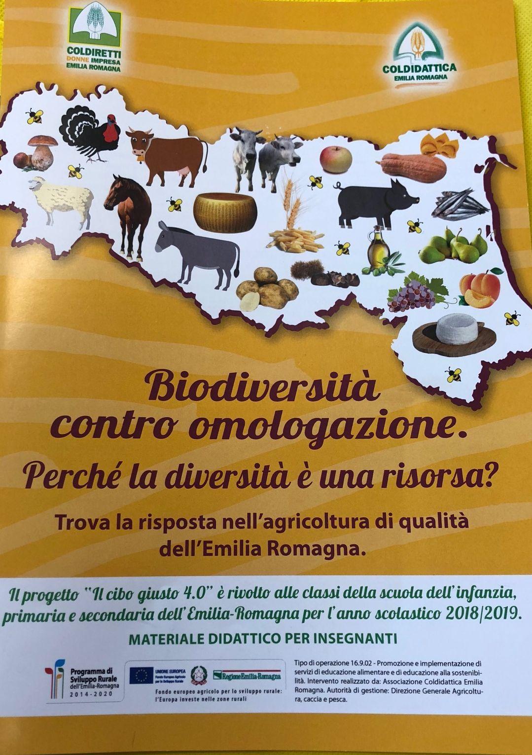 Biodiversità contro omologazione. Perché la diversità è una risorsa? Trova la risposta nell'agricoltura di qualità dell'Emilia Romagna