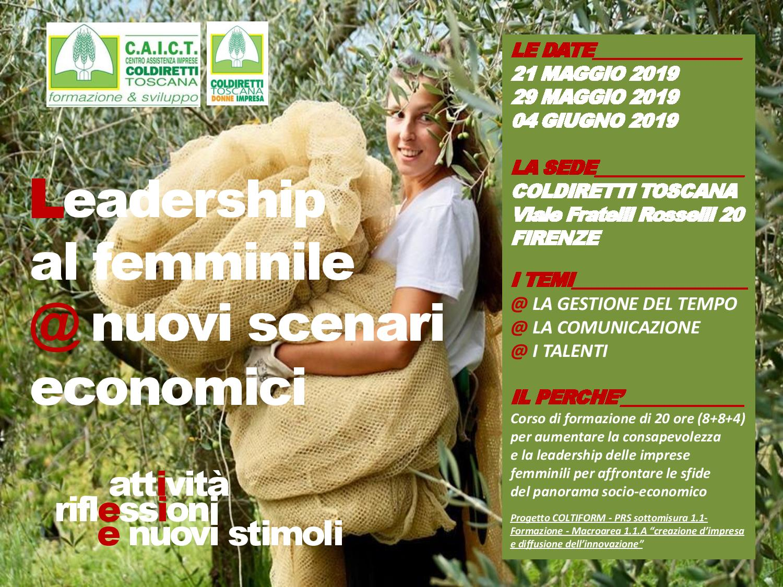 Leadership femminile nuovi scenari economici