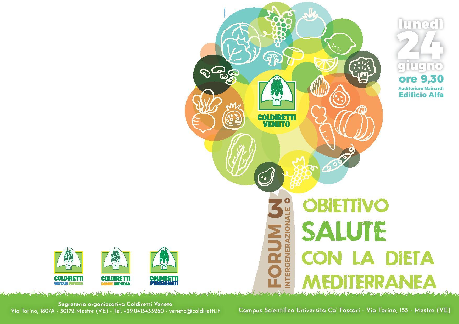 Obiettivo salute con la dieta mediterranea