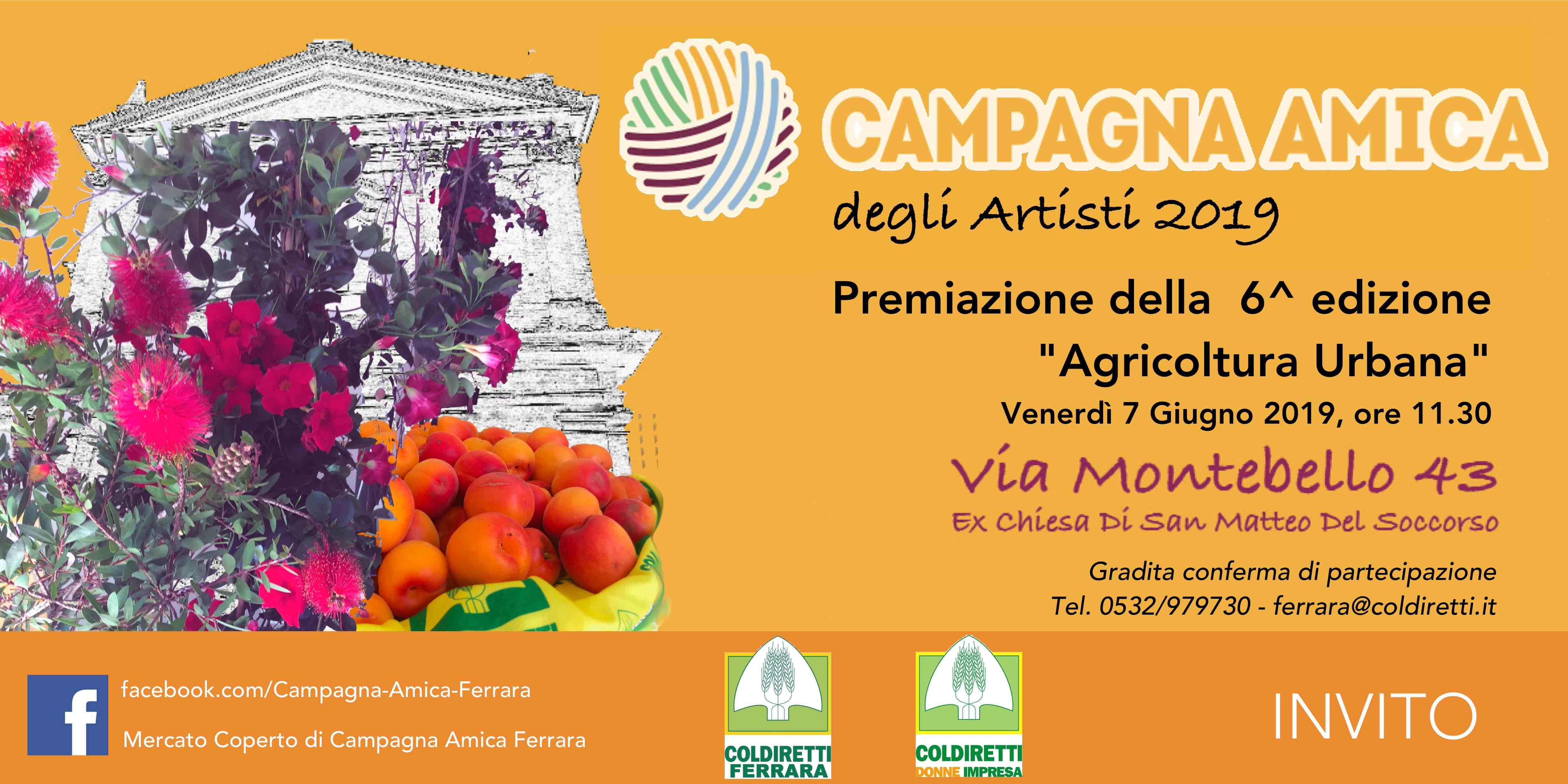 "Premiazione ""Agricoltura Urbana"""