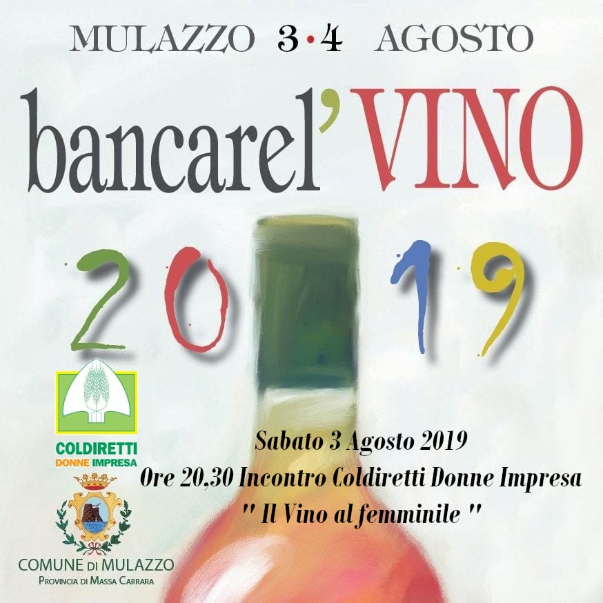 Bancarel' vino 2019 Massa Carrara