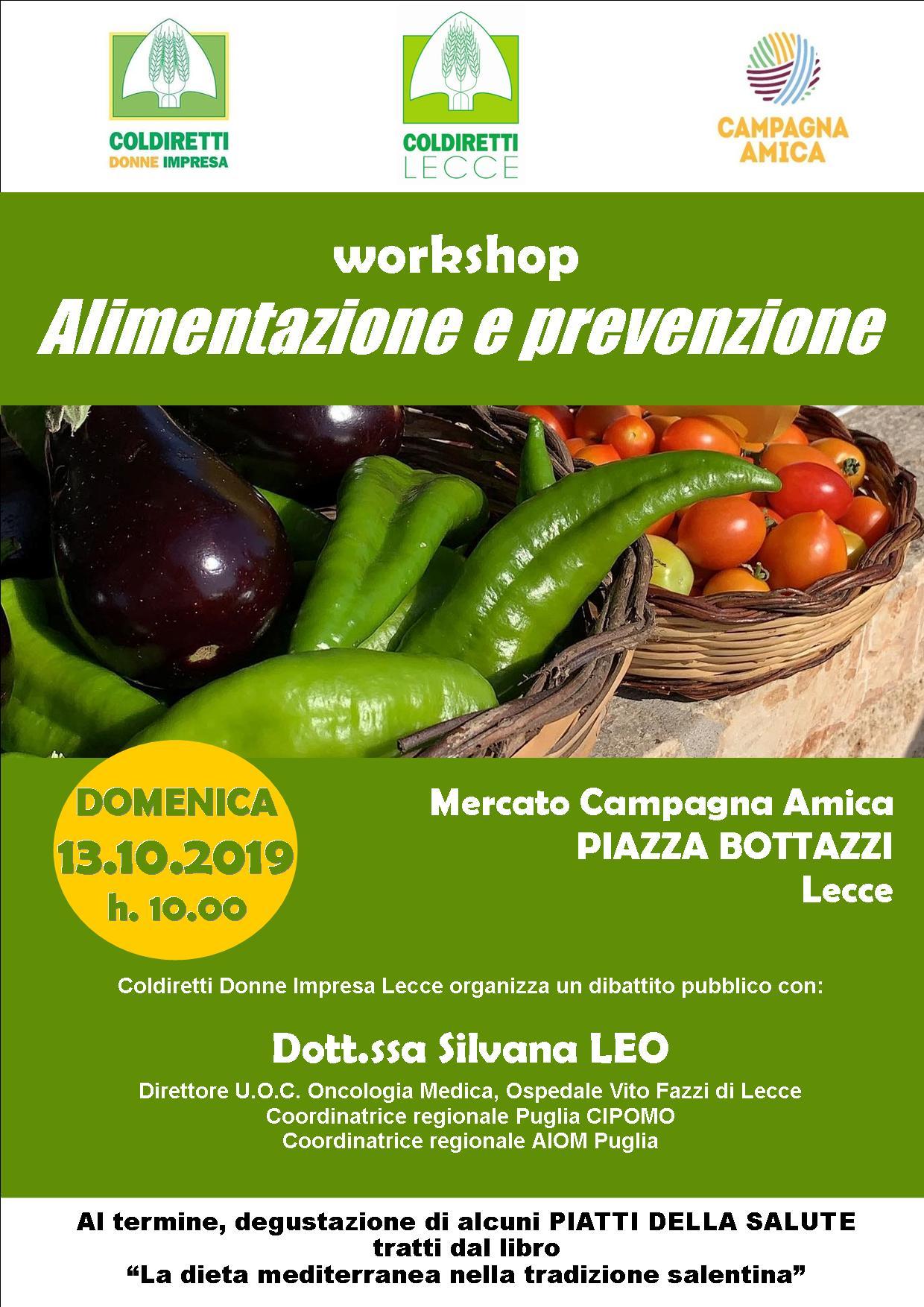 Workshop Alimentazione e prevenzione