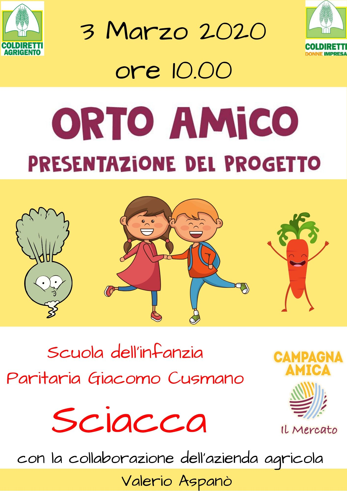 Orto Amico Presentazione progetto
