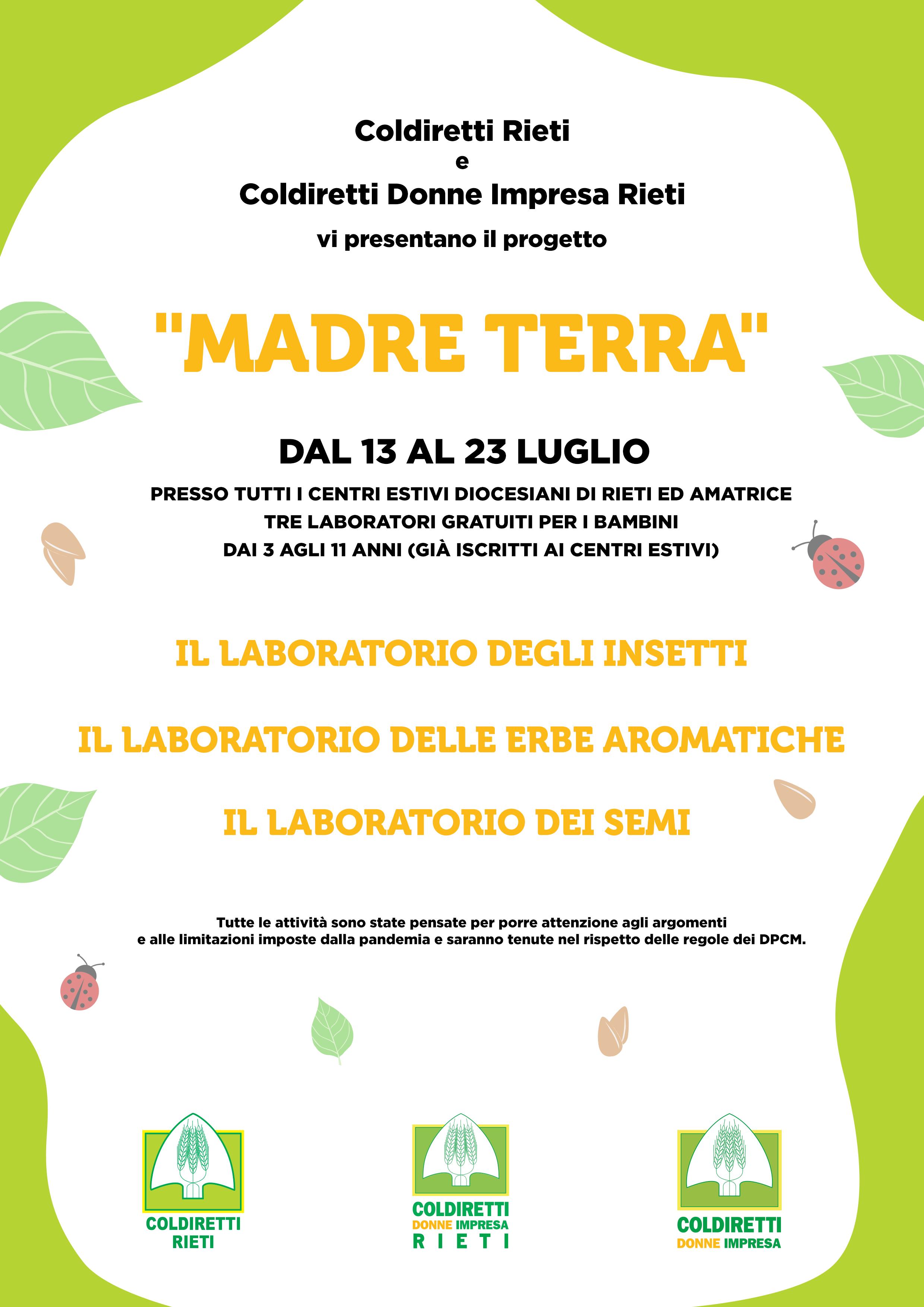 Madre Terra Coldiretti Rieti