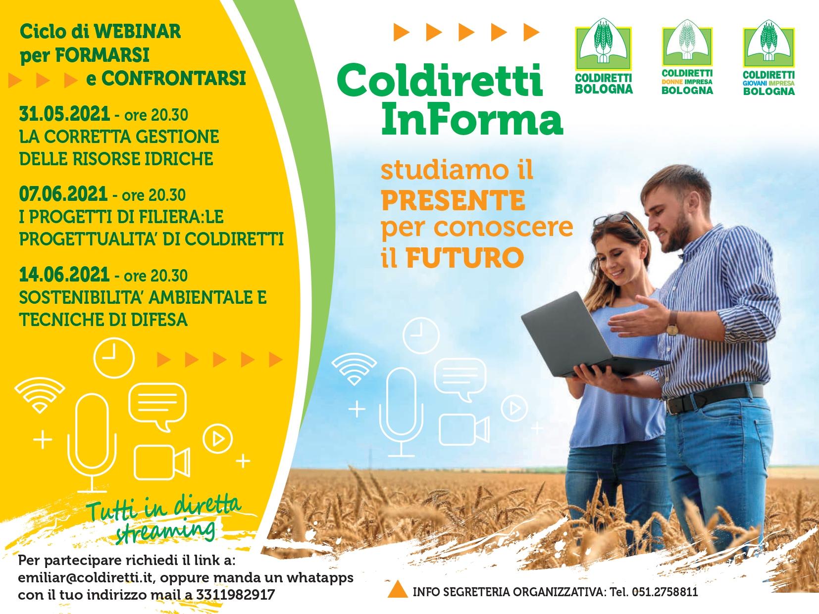 Coldiretti In Forma webinar